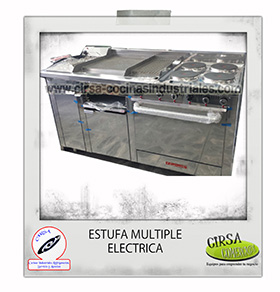 estufa multiple electrica