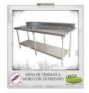 ▷ Mesas de Acero Inoxidable: REFORZADAS para uso rudo en tu cocina
