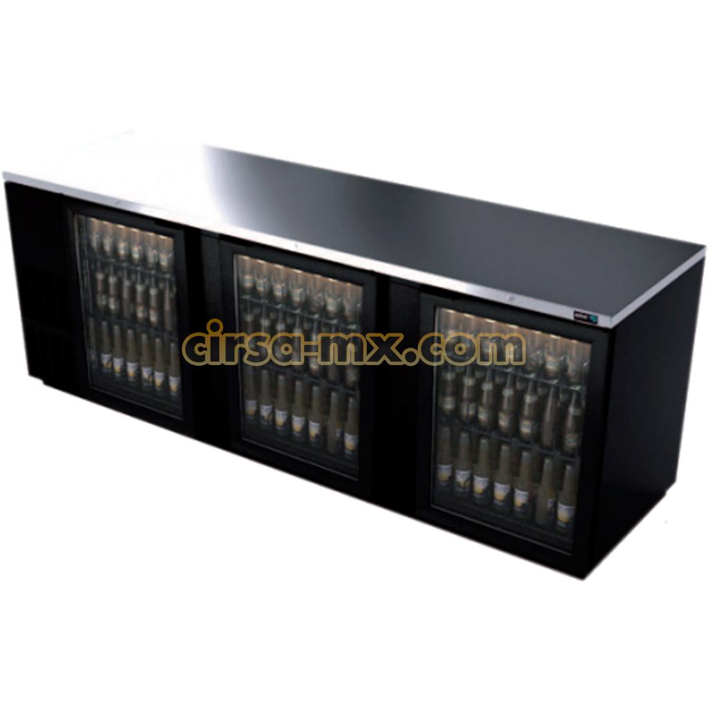 refrigerador bajo barra